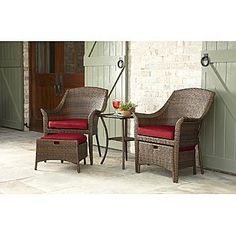 Garden Oasis  Twain 5pc Seating Set - Brown    Kmart  Item#   028W004919641001 |  Model#   65-12172B  $349.99