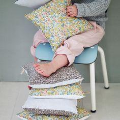 Poppy Liberty Print Pillows