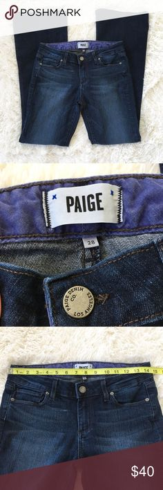 👖Paige Jeans Skyline Boot Petite Paige Jeans Skyline Boot Petite Size 28 Great pre-owned condition  ▶️Measurements in photos (laying flat) ▶️Materials/care in photos   💜My home is smoke and pet free PAIGE Jeans Boot Cut