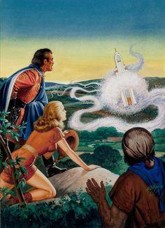 Robert Gibson Jones Fantastic Adventures cover September 1948
