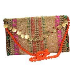 Arisha Kreation Co Gota Patti Hand Work Bridal box Clutch... http ...