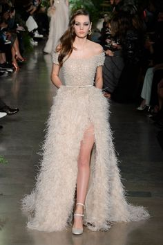 Pin for Later: 33 Couture Looks That Belong in Your Dream Wedding Elie Saab Haute Couture Spring 2015