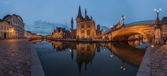 Ghent, Belgium: golden hour (photography, photo, picture, image ...