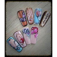 Instagram media anita_podoba - Vintage and gel painting courses. :)