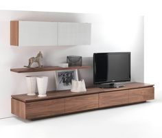 Buy online Sipario By riva sectional custom wooden storage wall design C. Nordic Living Room, Living Room Modern, Home Living Room, Living Room Designs, Living Room Decor, Living Room Bookcase, Living Room Tv Unit, Style International, Tv Wanddekor