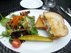 Grilled cheese at the Barking Frog (Woodinville)