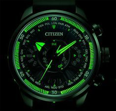 "While the company has yet to make a strap big enough to fit around a person's chest, that hasn't stopped Citizen watches from being ""close to the hearts of Stylish Watches, Luxury Watches For Men, Cool Watches, Men's Watches, Relogio Invicta Pro Diver, Citizen Dive Watch, Wooden Watches For Men, Citizen Eco, Fashion Watches"
