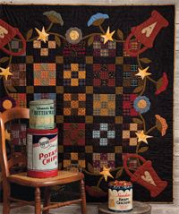 At Home with Country Quilts: 13 Patchwork Patterns (That Patchwork Place): Cheryl Wall Wool Quilts, Scrappy Quilts, Mini Quilts, Applique Quilts, Wool Applique, Bed Quilts, Primitive Quilts, Patchwork Patterns, Quilt Patterns