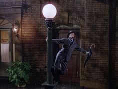 Gene Kelly in Singin in the Rain