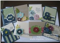 The Creativity Cave: Secret Garden and Oh Hello Card Kits