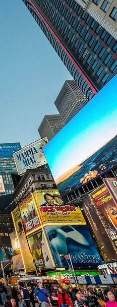 Times Square - New York | US (Nice Work if You Can Get It billboard)....Broadway show we saw on our last trip to the Big Apple ~slj~