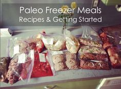 Paleo Freezer Meal Recipes