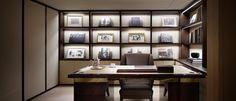 Study room @ presidential suite, hotel Shilla Royal Design, Premier Designs, Interior Design Studio, Luxury Bedding, Service Design, Guest Room, Bookcase, Korean Style, Dining Room