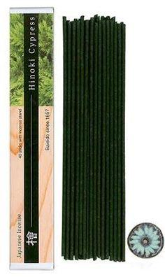 Baieido Incense Sticks Hinoki Cypress