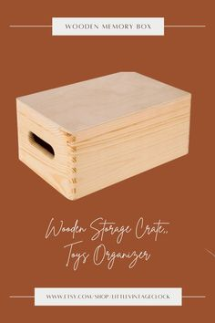 Spacious wooden chest. Perfect for toys or office supplies. It will help to keep order and unify all items of items.#storageottoman,#ecofriendlyproduct,#woodencratebox,#woodenstoragecrate,#extralargebox,#woodvanitybox,#customwoodenbox,#woodenboxunfinished,#bigwoodenbox,#woodmemory box,#toysorganizer,#rusticstoragebox Rustic Storage Boxes, Wooden Storage Crates, Wooden Crate Boxes, Custom Wooden Boxes, Crate Storage, Wooden Gifts For Her, Unfinished Wood Boxes, Wooden Box Designs, Vanity Box