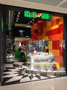 Loja Action GAMES - Shopping LEBLON - Fachada