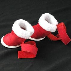 SODIAL(R) Rojo acogedor Zapatos Botas para perros ropa de vestir: Amazon.com.mx: Hogar y Cocina