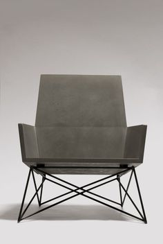 Outdoor Concrete Seating by Hard Goods #design #outdoor #furniture Photos by John Romero, courtesy of Hard Goods.