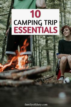 Family Camping Essentials Essential Items for Camping with Kids) - Going camping? Here is a list of essentials to take on your camping trip. Family camping, family ca - Camping Activities, Camping Meals, Tent Camping, Outdoor Camping, Outdoor Travel, Camping Tips, Camping Recipes, Camping With Kids, Family Camping