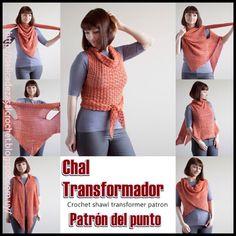 Delicadezas en crochet Gabriela: Chal