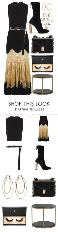 """""""The Little Things"""" by cherieaustin ❤ liked on Polyvore featuring Alexander McQueen, Valentino and Lash Star Beauty"""