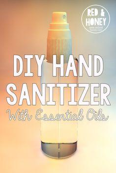 DIY Hand Sanitizer with Essential Oils