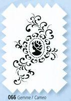 Schablone Viva Decor Textilgestaltung Universal-Schablone Gemme Basteln