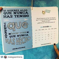 #Repost @malagaentrena with @repostapp.  Así comienza #noviembre en mi calendario @virusdlafelicidad #virusdlafelicidad que grandes que sois!! Próximamente me pilló su agenda!!!