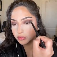 --Video Pin-- Amazing glam makeup by nancy_cruises Blue Eye Makeup, Glam Makeup, Makeup Inspo, Makeup Inspiration, Beauty Makeup, Hair Beauty, Make Up Tutorial, Makeup Looks Tutorial, Contour Makeup