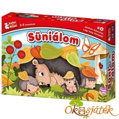 Süniálom társasjáték - Keller & Mayer (KM) Board Games, Lunch Box, Fall, Autumn, Basement