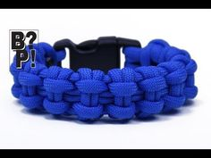 "Make the ""Chain Bar"" Paracord Survival Bracelet - BoredParacord.com - YouTube"