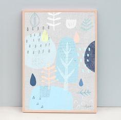 Abstract Nature Print