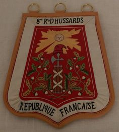 8 ème hussard, revolution, troupe, sabretache