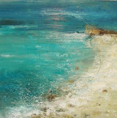 Claire Wiltsher(British) Restless Bay oil