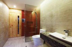 Spacious Modern House: La Planicie House II by Oscar Gonzalez Moix Winter Living Room, Home And Living, Bridge Structure, Sea Container Homes, Retreat House, Simple House Plans, Oscar, Modern Bathroom, Bathroom Ideas