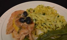 Lemon Chicken w/ Oil Cured Olives & Capers