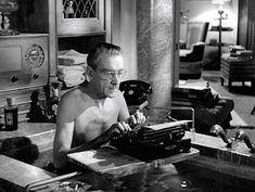 bathtub-typing. Movie classic