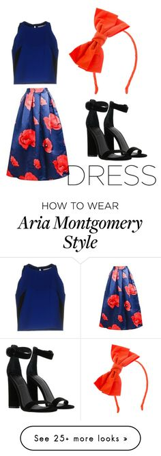 """""""Aria Montgomery"""" by unicorn1112 on Polyvore featuring Milly, Kendall + Kylie and Johnny Loves Rosie Fashion Sets, Fashion Styles, Kids Fashion, Pll Outfits, Celebrity Outfits, Kendall, Kylie, Aria Montgomery Style, Meeting Outfit"""