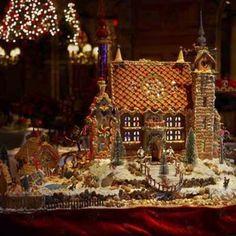 gingerbread house....unbelievable!