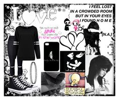 """""""Love"""" by crystal0248 ❤ liked on Polyvore featuring Love Quotes Scarves and Converse I Feel Lost, Lost Love, Scene Outfits, Grunge Outfits, Alternative Fashion, Gothic Fashion, Love Quotes, Scarves, Converse"""