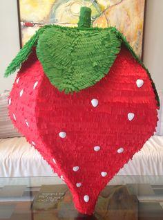 Piñata de fresa