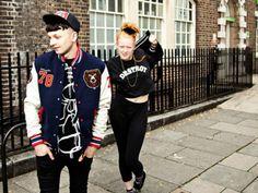 #street #fashion #punk #rock