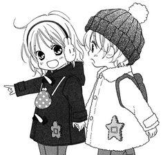 aoi, cute, enfants, girl and boy, kawaii, manga, love so life ...