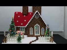 Winter Christmas, Christmas Home, Christmas Crafts, Christmas Decorations, Christmas Ornaments, Gingerbread House Pictures, Decor Crafts, Diy And Crafts, Putz Houses