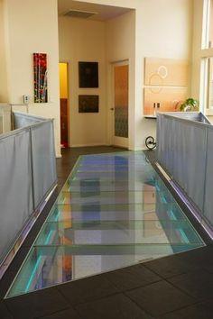 Structural Glass Floor Bridge Walkway Staircase Glass