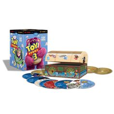 Toy Story Ultimate Toy Box Collection (Blu-ray/DVD Combo + Digital Copy) For the first time ever, experience the entire TOY STORY trilogy in one Blu Toy Story 3 Movie, Movie Tv, Movies Box, Good Movies, Disney Toys, Disney Movies, Walt Disney, Blu Ray Movies, Dvd Blu Ray