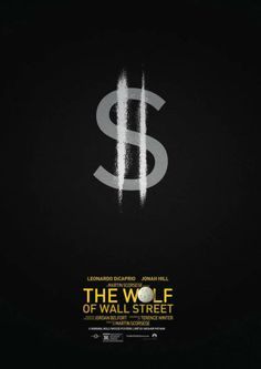 The Wolf Of Wall Street Minimalist Poster