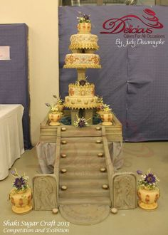 Traditional wedding cake ( sri lankan )