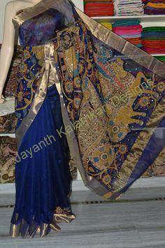 Pen Kalamkari sarees