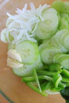 Grandma's Cucumber Salad | Lauren's Latest